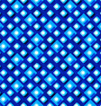seamless pattern from paper rhombus on a blue vector image