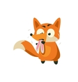 Fox Eating Rabbit vector image