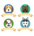 dog tag2 vector image
