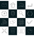 icons set 2 vector image