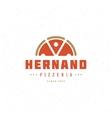 Pizzeria Restaurant Shop Design Element vector image