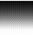 pentagon halftone background vector image