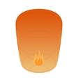 Thailand festival lanterm icon isometric 3d style vector image