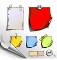 set of tags vector image vector image