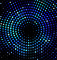Abstract background blue abstract banner halftone vector image