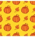 seamless pattern with Pumpkins vector image
