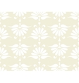 seamless pink flower pattern vector image