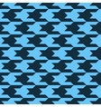 Pattern with black figures on a blue background vector image