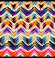 Ethnic chevron pattern vector image