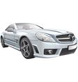 European luxury roadster vector image