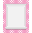 vintage frame moldings vector image vector image