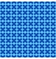Circle blue seamless pattern vector image