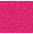 Perfume Line Pattern vector image