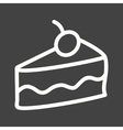 Slice of Cake II vector image