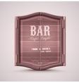 Bar Doors vector image