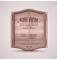 Saloon Doors vector image