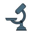 microscope scientific tool vector image