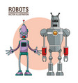 robots artificial intelligence image vector image