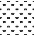military hat pattern vector image