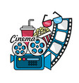 cinematography with short film tools vector image