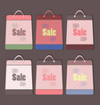 big sale bags set vector image