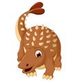 Ankylosaurus Dinosaur cartoon vector image vector image