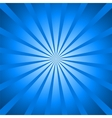 background blue rays vector image