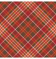 Orange brown diagonal check pixel square seamless vector image