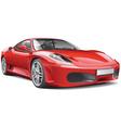 Red Italian Supercar vector image
