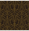 Damask thistle floral seamless pattern vector image
