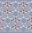 cute multicolor seamless pattern of stylized vector image