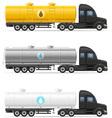 semi truck trailer 10 vector image