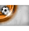 Football background red vector image