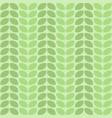 seamless decorative leaf pattern design vector image