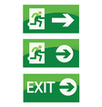 Safety sign vector image vector image