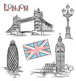 london landmark vector image vector image