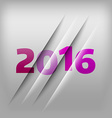 Numbers Background 2016 vector image vector image