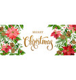 Christmas banner white vector image