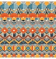Ethnic seamless pattern Hand drawn Abstract vector image vector image