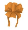 New cartoon bow symbol vector image