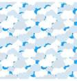 Clouds in blue sky seamless pattern vector image