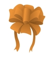 New cartoon bow symbol vector image