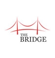 the bridge business vector image