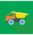 Digital truck car toy vector image