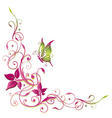 Flowers summer time vector image
