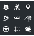Set of Hell vector image