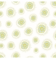 ditsy pattern with small flowers on a white vector image