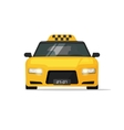 Taxi car cab icon isolated on white vector image