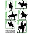 al 0730 horse vector image vector image