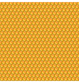 Design seamless honeycomb pattern vector image